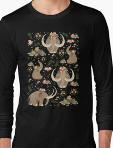 Cute mammoths Long Sleeve T-Shirt