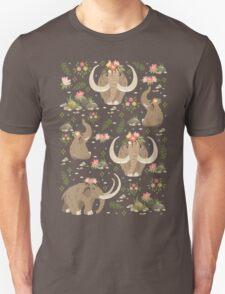 Cute mammoths Unisex T-Shirt