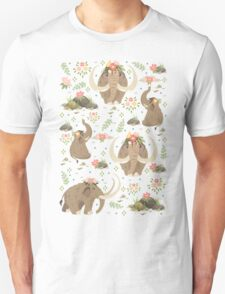 Cute mammoths Unisex T-Shirt