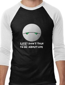 The paranoid android Men's Baseball ¾ T-Shirt