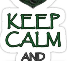 Keep calm and speak Parseltongue Sticker