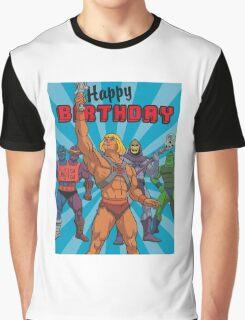 He-Man Dope Merch Graphic T-Shirt