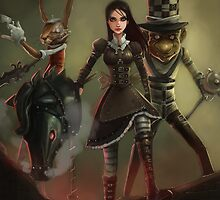 Alice in Wonderland by Manolya Jay