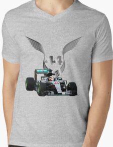 Lewis Hamilton 2016 F1 car driving T-Shirt