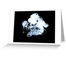 legalize 420 white Greeting Card
