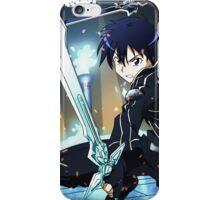 sword art online Kirito-kun iPhone Case/Skin