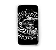 "Downhill Shirt ""In Gravity We Trust"" Crypt Edition Samsung Galaxy Case/Skin"