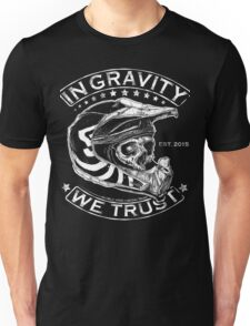 "Downhill Shirt ""In Gravity We Trust"" Crypt Edition Unisex T-Shirt"