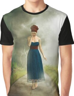 Between the clouds - depression Graphic T-Shirt
