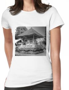 0050 Bali Shrine Womens Fitted T-Shirt