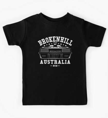 Mad Max Inspired Broken Hill 1981 Shirt Kids Tee