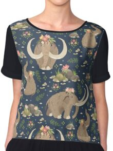 Cute mammoths Chiffon Top