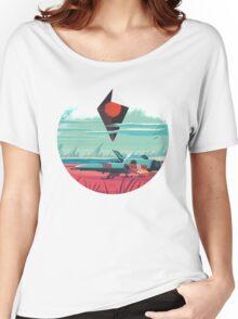 No Man's Sky Art Work Design Women's Relaxed Fit T-Shirt