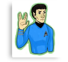 Live Long and Prosper Canvas Print
