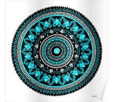 Winter Mandala Poster