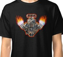 Cartoon Turbo Engine Classic T-Shirt