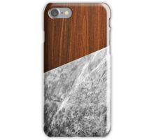 Wooden Marble iPhone Case/Skin