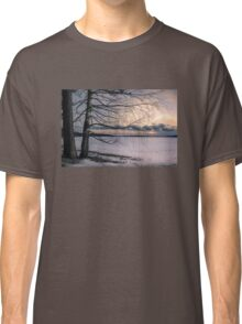 Spring evening at the lake Classic T-Shirt