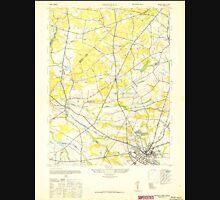 USGS TOPO Map New Jersey NJ Freehold 254402 1947 24000 Unisex T-Shirt