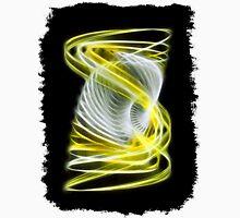 Twisted 1 Yellow Unisex T-Shirt