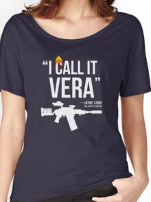 Jayne + Vera (white letters) Women's Relaxed Fit T-Shirt