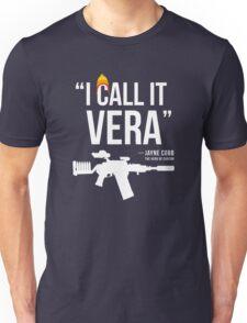 Jayne + Vera (white letters) Unisex T-Shirt