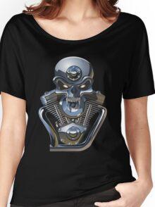 Cartoon Motorhead Women's Relaxed Fit T-Shirt