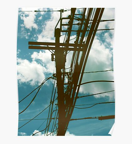 Clouds and Transformer Poster