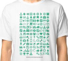 Font Awesome Original Classic T-Shirt