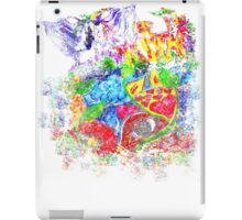 Trippy, psychedelic, arty iPad Case/Skin