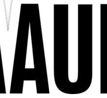 Baauer (Plain) Sticker