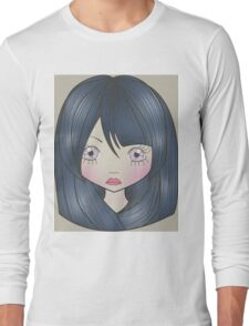 Dollhouse Girl Blue Long Sleeve T-Shirt