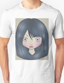 Dollhouse Girl Blue Unisex T-Shirt
