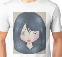 Dollhouse Girl Blue Unisex T-Shirt