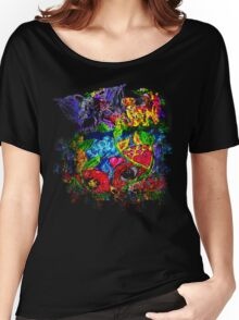 Trippy, psychedelic, arty Women's Relaxed Fit T-Shirt
