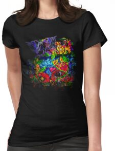 Trippy, psychedelic, arty Womens Fitted T-Shirt