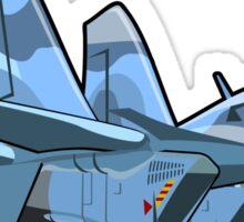 Cartoon Jetbird Sticker