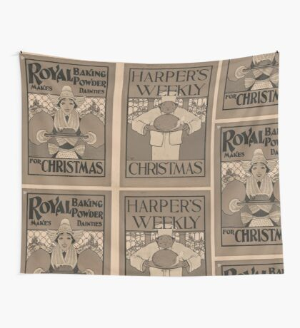 Artist Posters Harper's Weekly Christmas 0774 Wall Tapestry