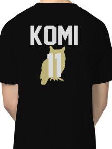 Haikyuu!! Jersey Komi Number 11 (Fukurodani) Classic T-Shirt