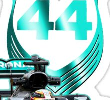 Lewis Hamilton F1 with LH 2016 44 car Sticker