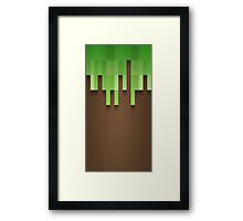 Minecraft Framed Print