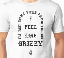 "Drake ""Views From The 6"" Kanye West ""I Feel Like Pablo"" Crossover Unisex T-Shirt"