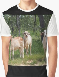 Outback Cattle Graphic T-Shirt