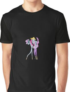 Fantasy incense smoke photograph of dancing couple Graphic T-Shirt