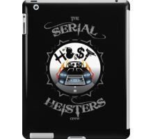 THE SERIAL HEISTERS CREW GREY iPad Case/Skin