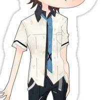 Chibi Katsuhira Agata Sticker