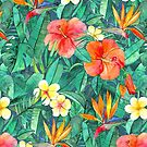 Classic Tropical Garden by micklyn
