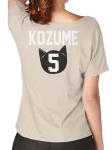 Haikyuu!! Jersey Kenma Number 5 (Nekoma) Women's Relaxed Fit T-Shirt