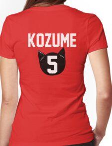 Haikyuu!! Jersey Kenma Number 5 (Nekoma) Womens Fitted T-Shirt
