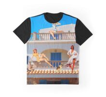 LIVING LA VIDA IN MEXICO Graphic T-Shirt